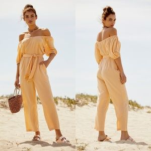 Free People Nalani Off-The-Shoulder Jumpsuit